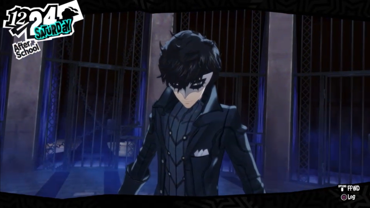 The Persona 5 protagonist as his Metaverse alter-ego, Joker
